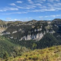 Chartreuse stage trail