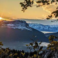 lever soleil dent de Crolles