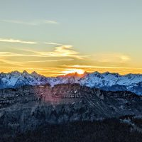 lever soleil trail